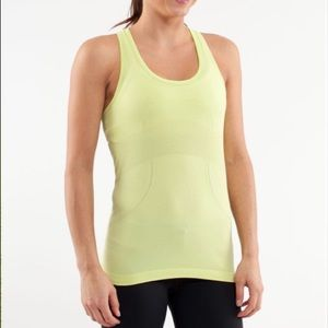 Lululemon Run: Swiftly Racerback Wild Lime Size 2